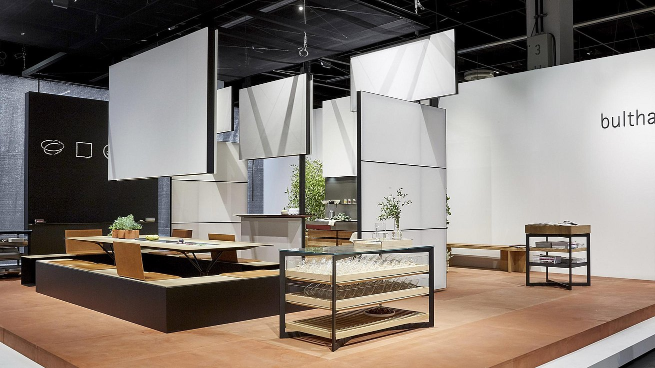 overview of the bulthaup presentation at the orgatec fair