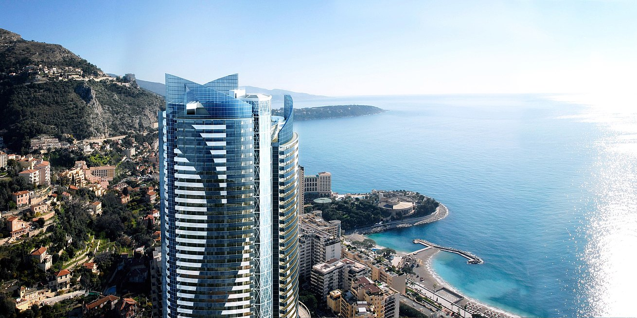 Example of a commercial project partnership: the high-rise Tour Odéon in Monte Carlo
