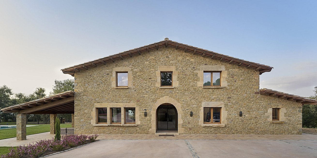 """Country Home in Osona"" project, presented by the Sandra Soler studio"