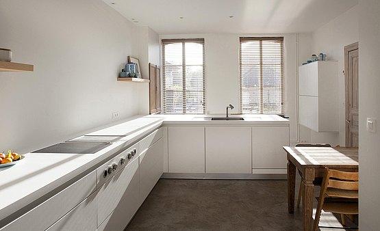 charmante woning in landelijk sint denijs bulthaup. Black Bedroom Furniture Sets. Home Design Ideas