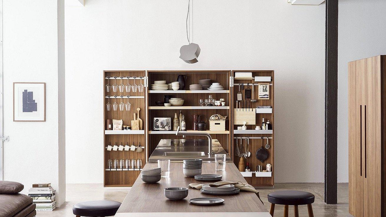 Une marque de cuisines haut de gamme d 39 origine allemande bulthaup - Cuisine amenagee fabrication allemande ...