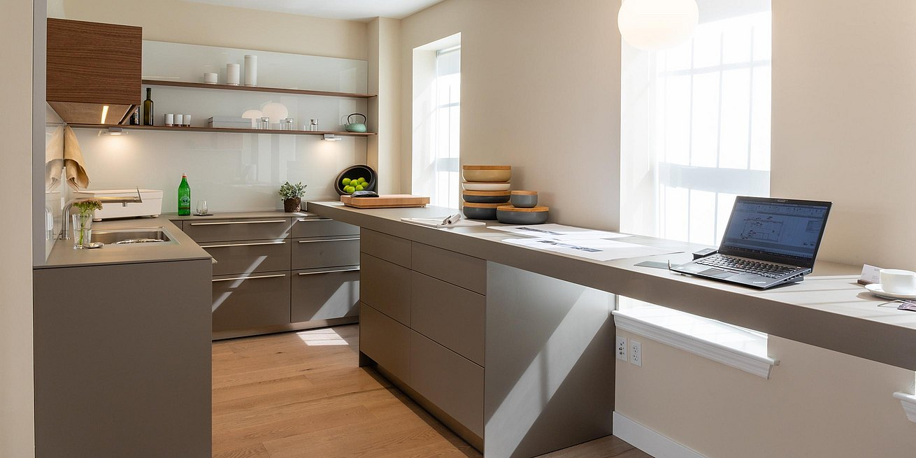 Welcoming Intimate Showhouse Kitchen: Bulthaup Boston