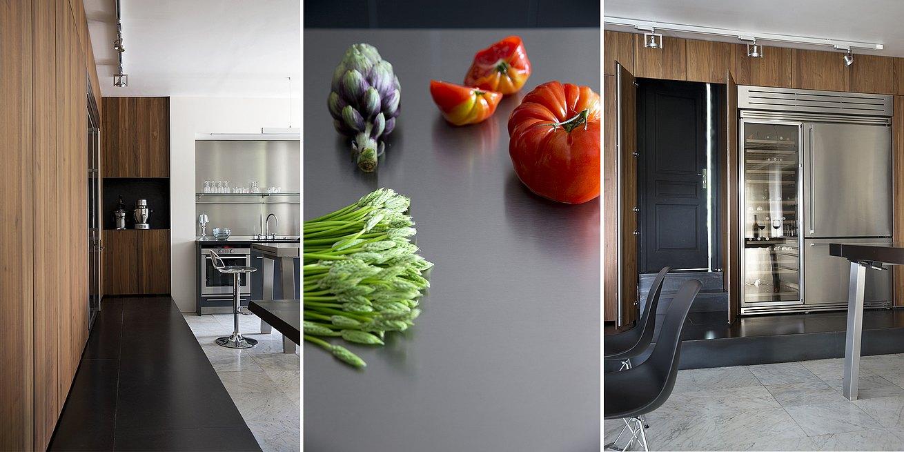 Un am nagement de cuisine qui agrandit l espace bulthaup for Prix d une cuisine bulthaup