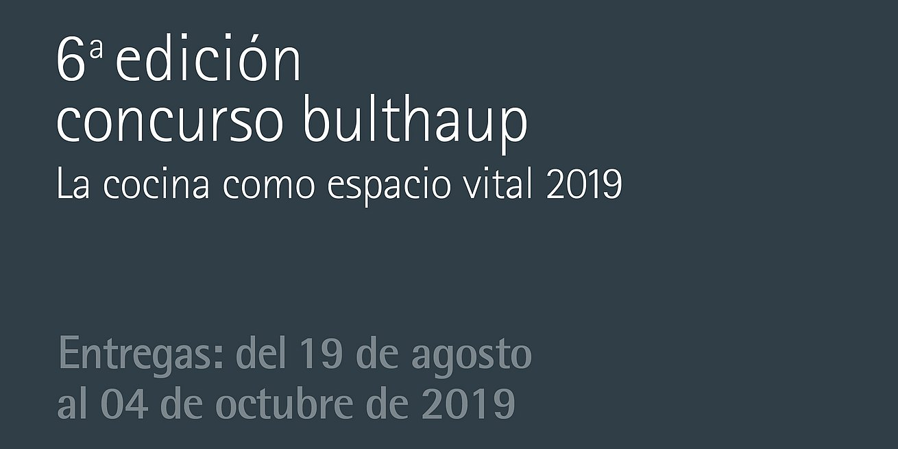 bulthaup competition 2019