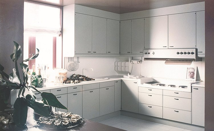 1974: Introduction of Concept 12: kitchen with modern styling and practice-oriented design established bulthaup as an innovation leader