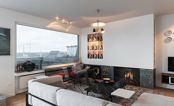 In beeld penthouse gent bulthaup
