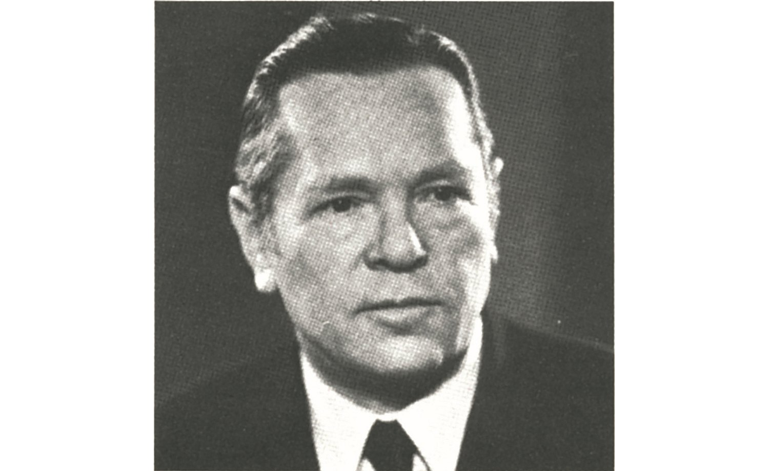 "1949: Black-white portrait of Martin Bulthaup, founder of the ""Martin Bulthaup Furniture Factory"""