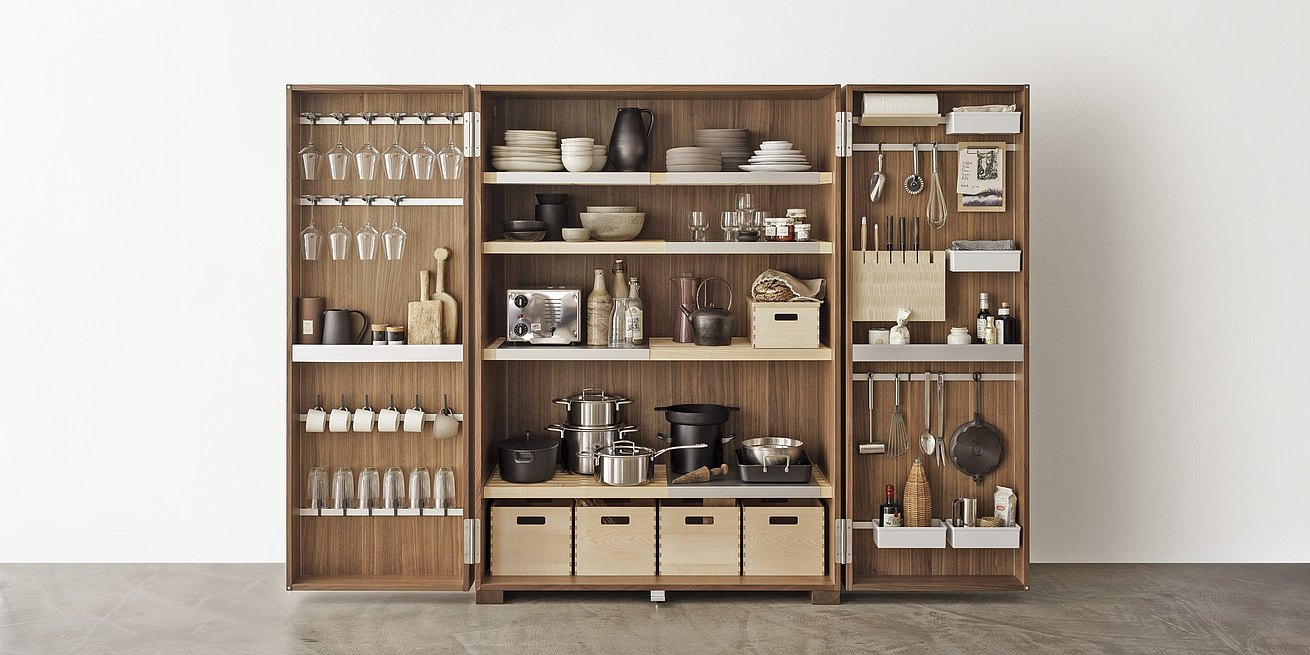 B2 Tool Cabinet: Functional Organization System In The Cabinet And Cabinet  Doors Stores The Essentials