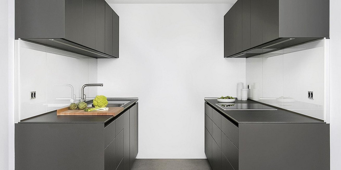 bulthaup offers solutions for small kitchen spaces