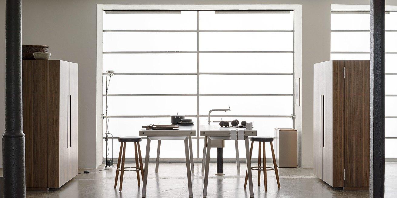 des espaces rationalisés pour une cuisine fonctionnelle - bulthaup