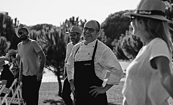It is the third consecutive year that we have the chef Jordi Vilà for our annual event in La Ricarda.